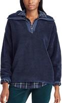 Chaps Women's 1/4-Zip Sherpa Jacket