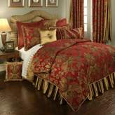 Bed Bath & Beyond Austin Horn Classics Verona Full/Queen Duvet Cover in Red/Gold