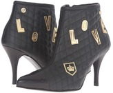 Love Moschino Quilted Ankle Bootie