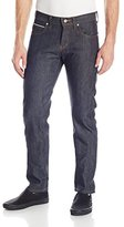 Naked & Famous Denim Men's Super Skinny Guy Jean, Left Hand Twill Selvedge, 30