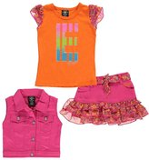 "Enyce Baby Girls' ""E Floral"" 3-Piece Outfit"