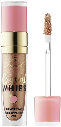 Too Faced Crystal Whips Shimmering Liquid Eye Shadow Peaches and Cream Collection