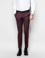Noose & Monkey Suit Trousers With Stretch In Super Skinny Fit