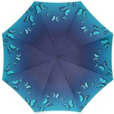Butterfly Umbrella Christmas Day Gifts Flying Butterflies Blue Pattern 100% Fabric And Aluminium High-Quality Foldable Umbrella