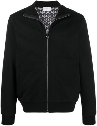 Salvatore Ferragamo Gancini zip jacket