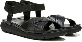 Naturalizer Leather Cross-Strap Sport Sandal - Lily