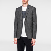 Paul Smith Men's Slim-Fit Grey Salt-And-Pepper Wool Blazer