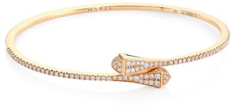Cleo x Marli 18K Rose Gold & Diamond Cuff