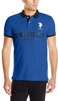 U.S. Polo Assn. Men's Slim Fit Solid New York City Polo Shirt