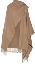 Acne Studios Fringed Wool Wrap - Camel