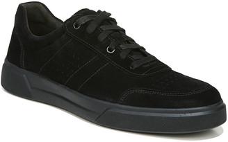 Vince Men's Barnett Tonal Perforated Suede Low-Top Sneakers
