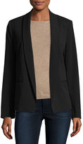 MICHAEL Michael Kors Open-Front Lightweight Blazer, Black