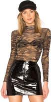 by the way. Mya Camo Mesh Bodysuit
