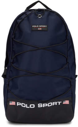 Polo Ralph Lauren Navy Nylon Backpack