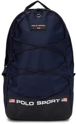 Polo Ralph Lauren Navy Nylon Backpack