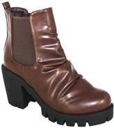 C Label Brown Clancy Ankle Boot