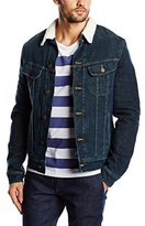 Lee Men's Denim Jacket Long sleeve Jacket Blue Bleu (Faded Frost)