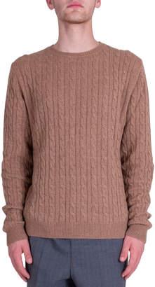 Mauro Grifoni Braids Sweater - Camel