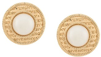 Givenchy Pre Owned 1980's Oversized Clip-On Earrings
