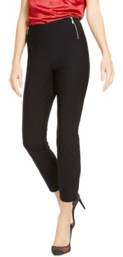 INC International Concepts Inc Petite Side-Zip Skinny Pants, Created For Macy's
