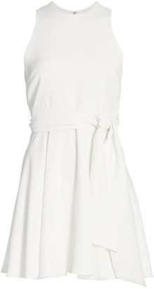 Alice + Olivia Wesley Flared Mini Dress