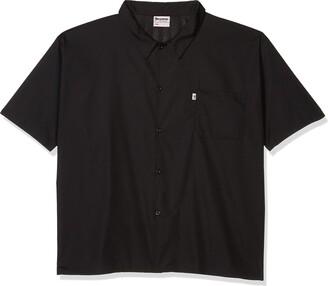 Uncommon Threads Unisex-Adults Plus Size Mesh Utility Shirt White