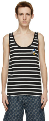 Gucci Black and White Disney Edition Donald Duck Tank Top