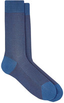 Barneys New York Men's Herringbone Mid-Calf Socks