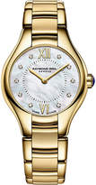 Raymond Weil 5124-P00985 Noemia gold PVD-plated stainless steel 10 diamond watch
