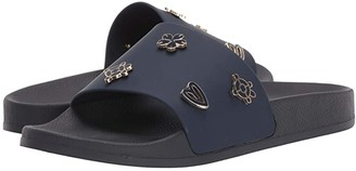 Jack Rogers Kennedy Pool Slide (Midnight) Women's Shoes