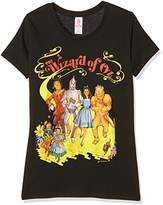 Logoshirt Girl's Wizard of Oz, the-Yellow Brick Road T-Shirt,Medium