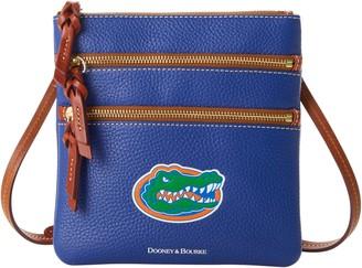 Dooney & Bourke NCAA Florida Triple Zip Crossbody