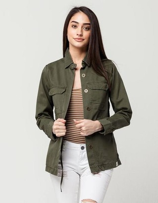 rhythm Jacket Field Military Olive - S