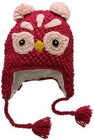 Fat Face Girl's Owl Trapper Hat