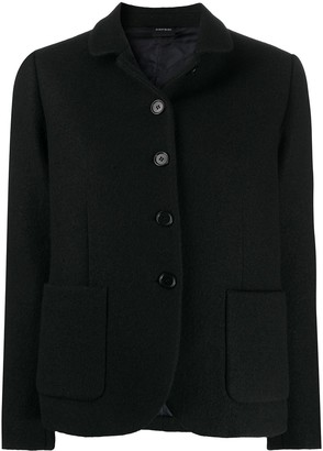 Aspesi Single-Breasted Wool Jacket