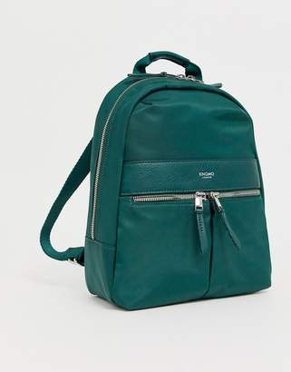 Knomo Mini Beauchamp Backpack in Pine Green