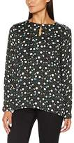 Timezone Women's Black Daisy Tunic Blouse,6