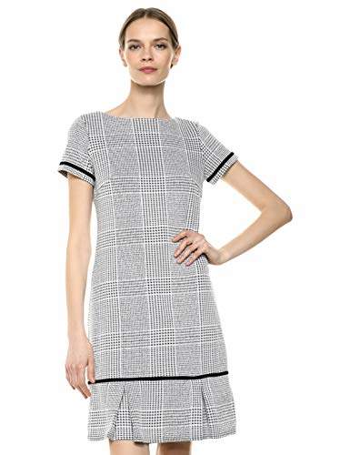 Sharagano Women's Houndstooth Dress
