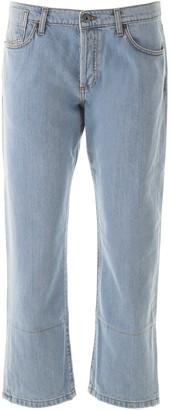 Marni Cropped Straight-Leg Denim Jeans