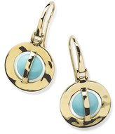 Ippolita 18K Senso Wrapped Earrings in Turquoise