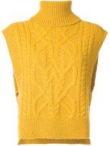 Isabel Marant 'Grant' sleeveless jumper - women - Polyamide/Alpaca/Merino - 36