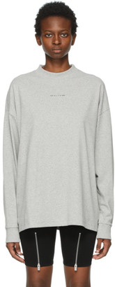 Alyx Grey Visual Logo Long Sleeve T-Shirt
