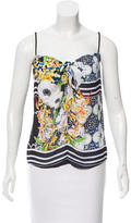 Clover Canyon Sleeveless Digital Print Top