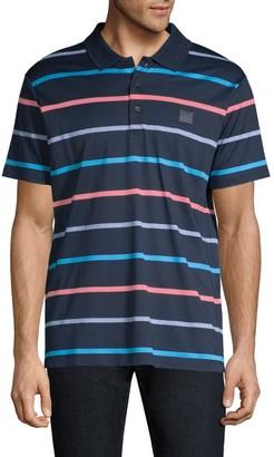 Paul & Shark Multi-Color Striped Polo