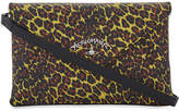 Vivienne Westwood leopard-print leather evelope clutch