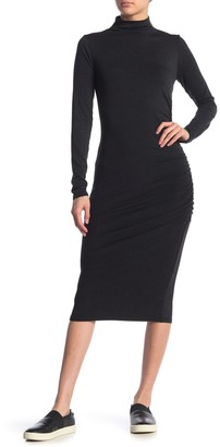 Michael Stars Mock Neck Midi Dress