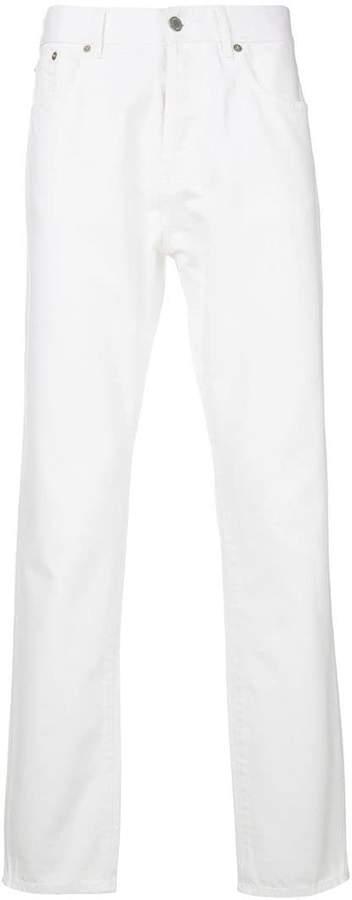 MAISON KITSUNÉ straight leg jeans