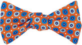 Petronius Men's Octagon-Print Silk Bow Tie
