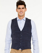 Le Château Cotton Blend V-Neck Vest