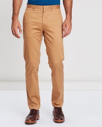 Cerruti Cotton Twill Khaki Pants